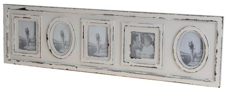 retro fotorahmen antik 83 cm creme shabby chic bilderrahmen art nr c37562850 ebay. Black Bedroom Furniture Sets. Home Design Ideas