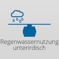 Regenwassernutzung unterirdisch (Regenwassertanks)