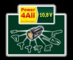 10,8-Volt-Lithium-Ionen-Akkusystem