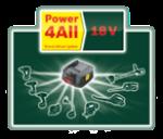 18 Volt Lithium-Ionen-Akkusystem