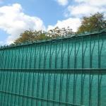 Sicht- und Windschutz für Gartenzäune