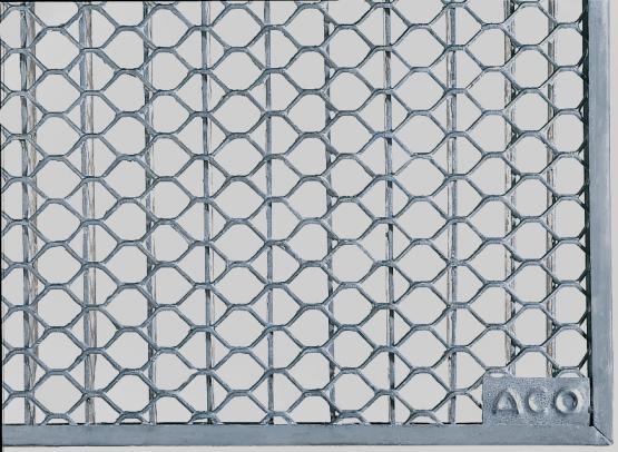 ACO Rost für Lichtschacht 400 x 1000 x 20 mm Streckmetall begehbar