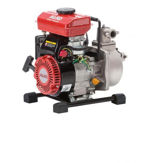 AL-KO Benzinmotorpumpe BMP 14000 l/h ohne Saugschlauch 1,2 kW Wasserpumpe 4-Takt