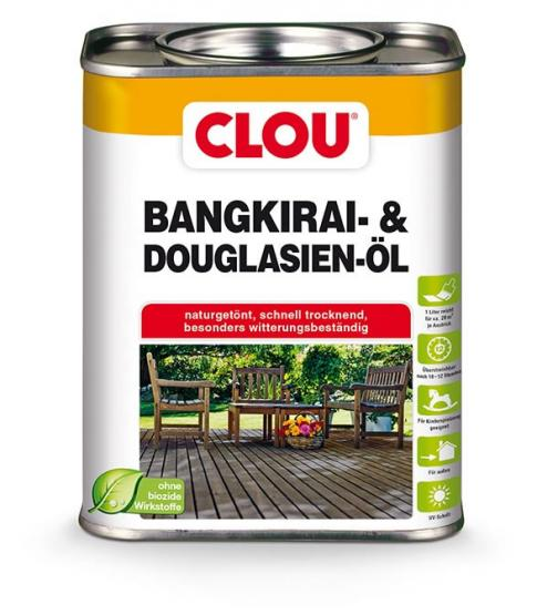 Clou Bangkirai- & Douglasien-Öl 750ml