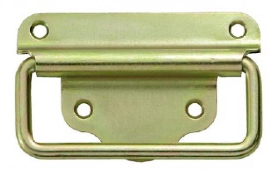 Connex Kistengriff Tragegriff Klappgriff 118 x 50 mm gelb-verzinkt