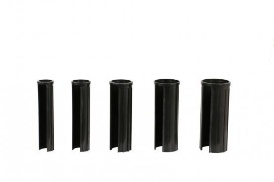 doppler Ersatzteil Granitsockel-Reduzierringe schwarz Länge 150mm
