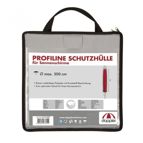 doppler Ersatzteil Profi Line Schutzhülle grau in Tragetasche 300 cm