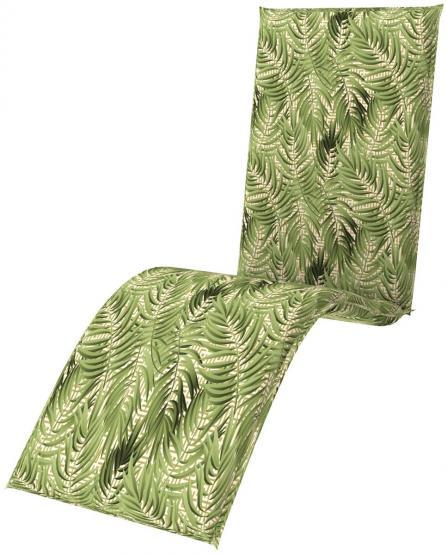 doppler Relaxliege Sitzauflage Sitzkissen Living ca.170x48x6cm Blätter