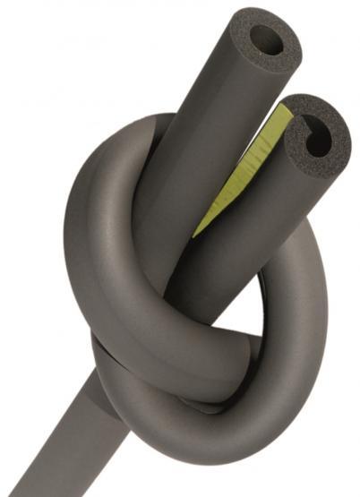 Dreiflex Kautschuk-Rohrisolierung für Heizrohre selbstklebend 28x11 mm 1m