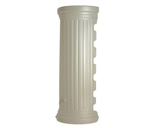 GARANTIA Regenwassertank Regenwasserspeicher Regentonne Säulen Wandtank 550 L sandbeige