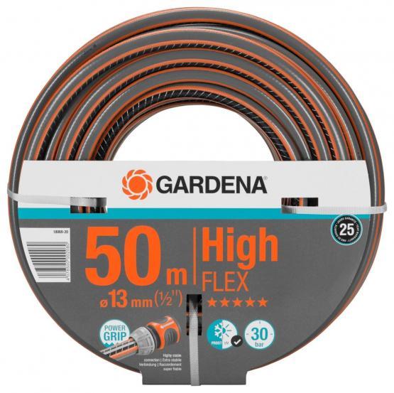 GARDENA Comfort HighFLEX Schlauch Gartenschlauch 13 mm (1/2) 50 m ohne Systemteile (18069)