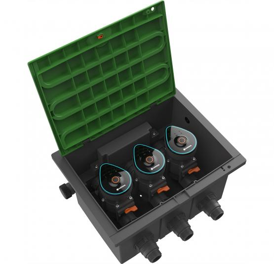 Gardena Ventilbox 9 V Bluetooth Aktion Set Bewässerungsset Sprinklersystem