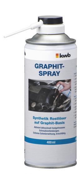KWB Graphit-Spray Synthetik-Rostlöser 400ml