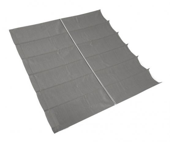 Nesling Coolfit Faltsonnensegel Sonnenschutz wasserdurchlässig 2,90 x 3 m Grau