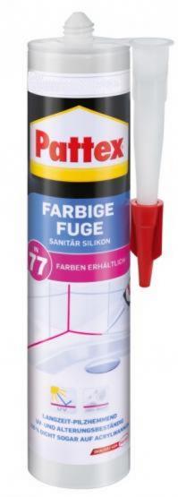 Pattex Farbige Fuge 300ml 09077 Aluminium hell