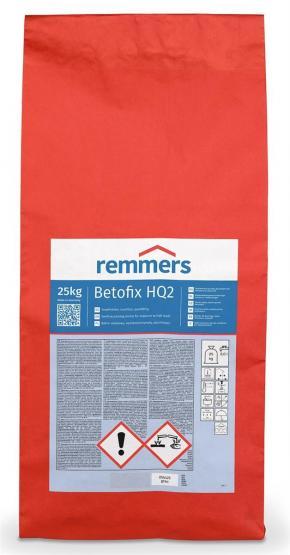 Remmers Betofix HQ2 Stopfmörtel Quellmörtel hochfest grau 25 kg