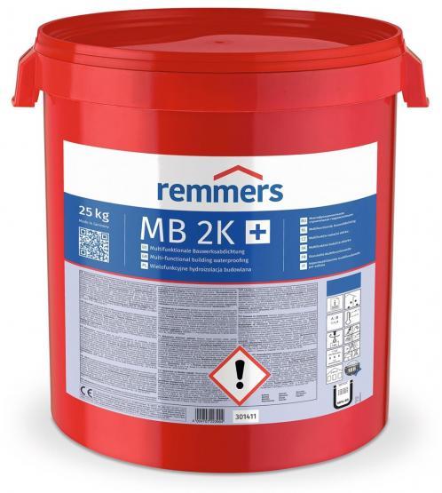 Remmers Multi-Baudicht polymere Dickbeschichtung MB 2K 25kg Bitumenabdichtung