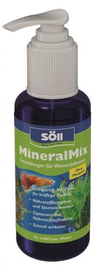 Söll MineralMix 100 ml für 1.000 Liter Aquarienpflege Grunddünger für Wasserpflanzen