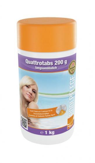 Steinbach Quattrotabs 200g langsamlöslich 1kg Tabletten