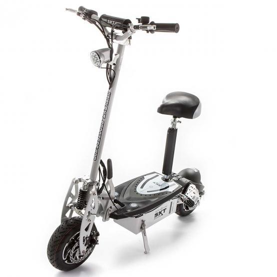 SXT-Scooters Elektro Scooter E-scooter SXT1600 XL Blei 48V 12Ah weiss