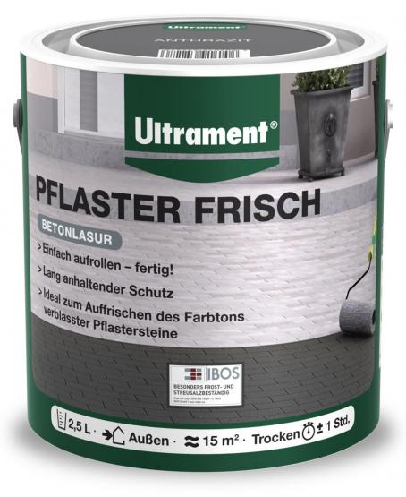 Ultrament Betonlasur Pflaster Frisch 2,5 L anthrazit