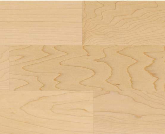 ZIRO HOLZLOC Holz-Fertigparkett, 3-Stab kanadisch. Ahorn natur, lackiert 6 St. /Karton 2,534 m²