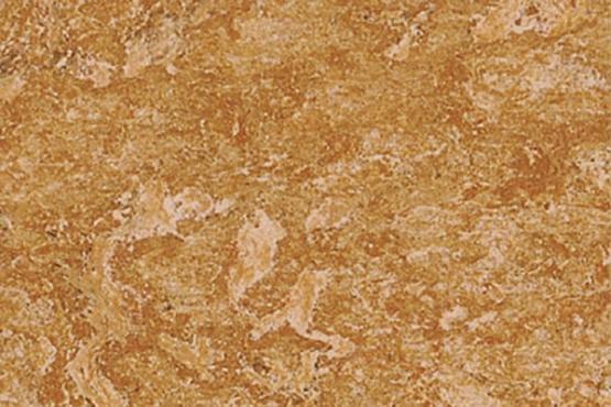ZIRO Linoplus Linoleumboden HDF Caramel Marmor-Optik 6 St. /Karton 1,62 m²
