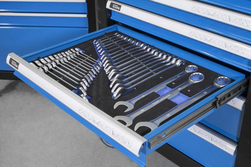 Werkzeug Schraubenschlüsselset Güde Schraubenschlüssel Set 32 tlg