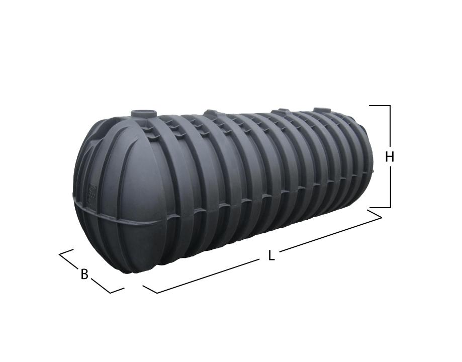 Hervorragend GARANTIA STABILUS Sammelgrube 3000 Liter mit DiBt Z-40.24-524 OZ88