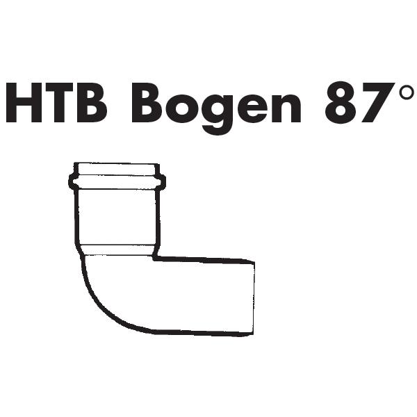 HT-Bogen DN 110-87°