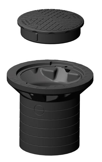 Rewatec Profi-Tankdom DN 300 optionales Zubehör