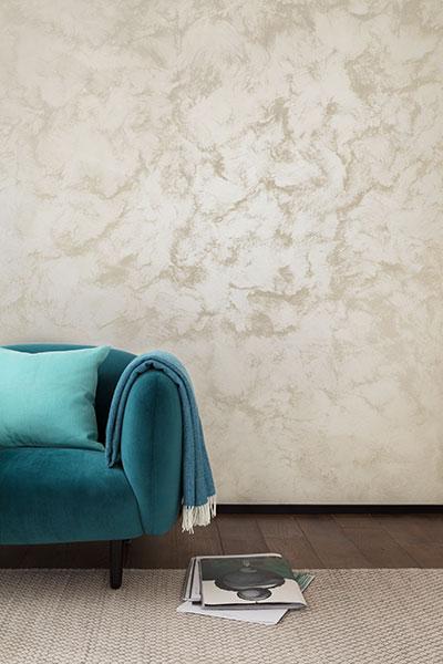 Schoner Wohnen Schimmer Optik Effektfarbe Trendstruktur Wandfarbe Pearldust 2 5 L