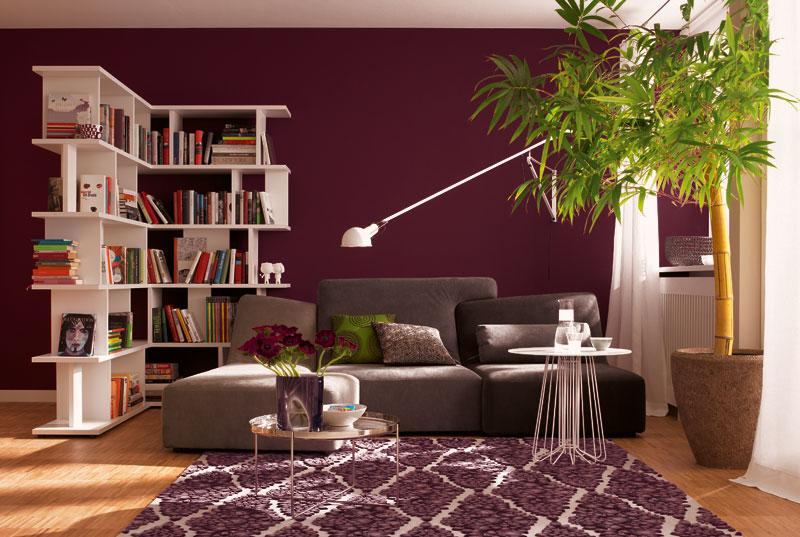 Schöner Wohnen Trendfarbe Wandfarbe Deckenfarbe lounge matt 1 L