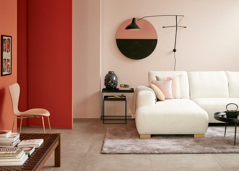 Schöner Wohnen Trendfarbe Wandfarbe Deckenfarbe Poudre matt 1 L