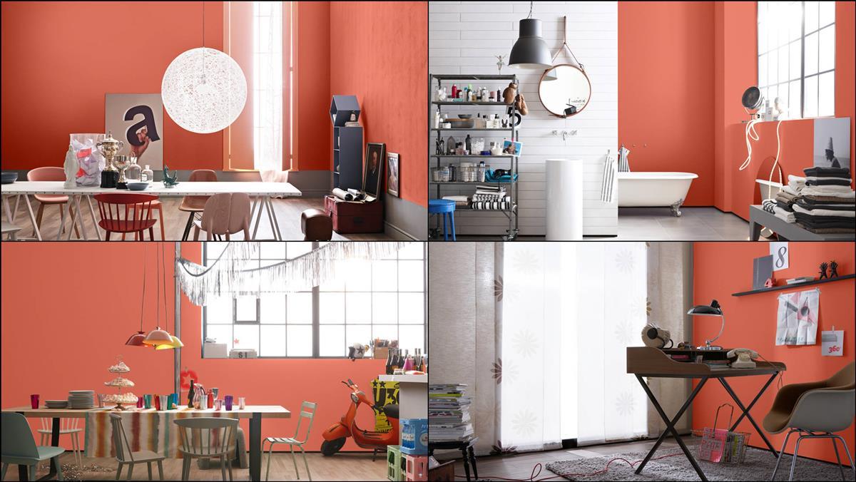Schoner Wohnen Trendfarbe Wandfarbe Deckenfarbe Safran