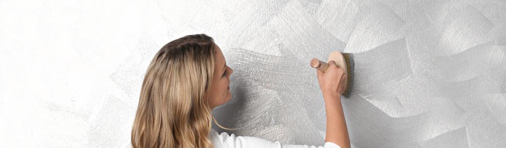 Schoner Wohnen Trendstruktur Effektfarbe Metall Optik Silber Matt 1 L
