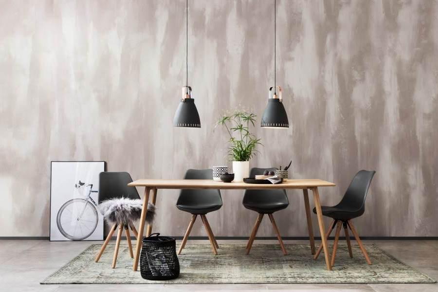 Schoner Wohnen Trendstruktur Loft Optik Effektspachtel Wandfarbe Grau 4 L