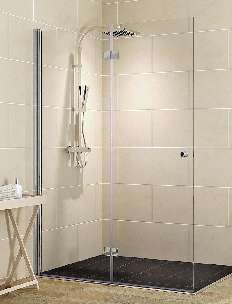 schulte garant duschwand walk in mit drehfaltt r. Black Bedroom Furniture Sets. Home Design Ideas