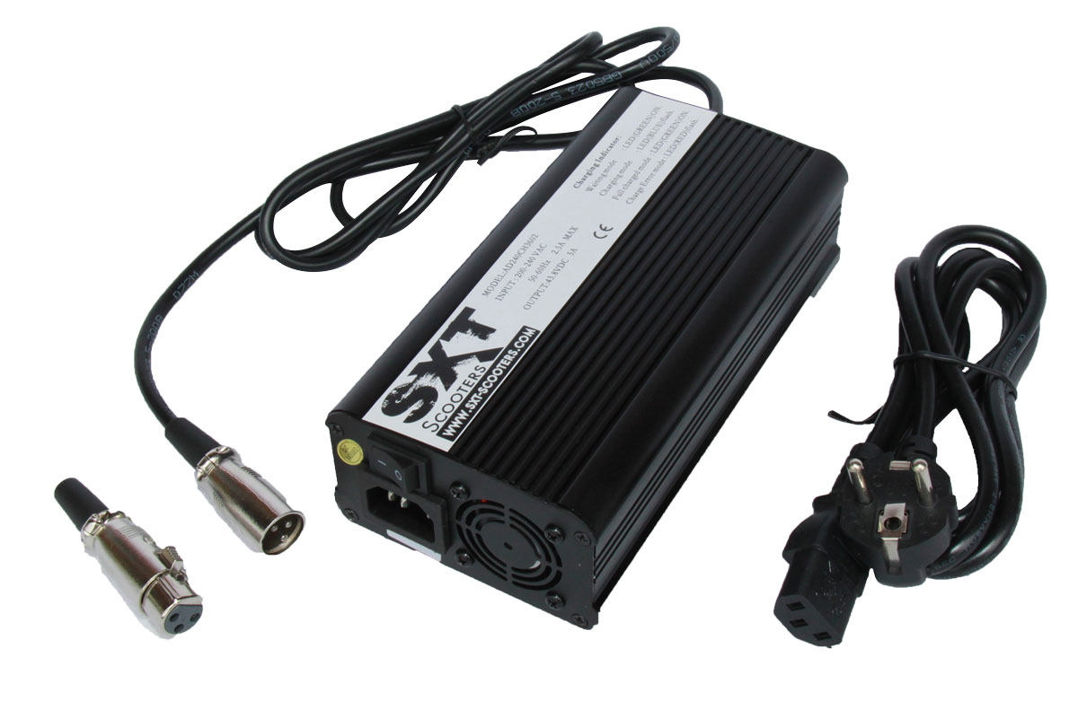 5A High End Schnellladegerät für 48V Lithium Akkus