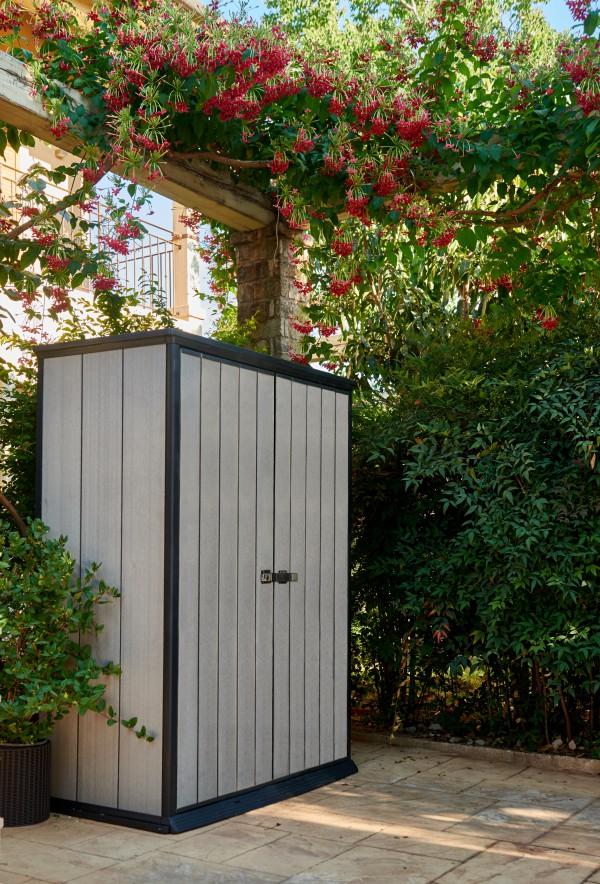 Tepro Aufbewahrungsbox Aufbewahrungsschrank Gerätebox High Store 1500 Liter