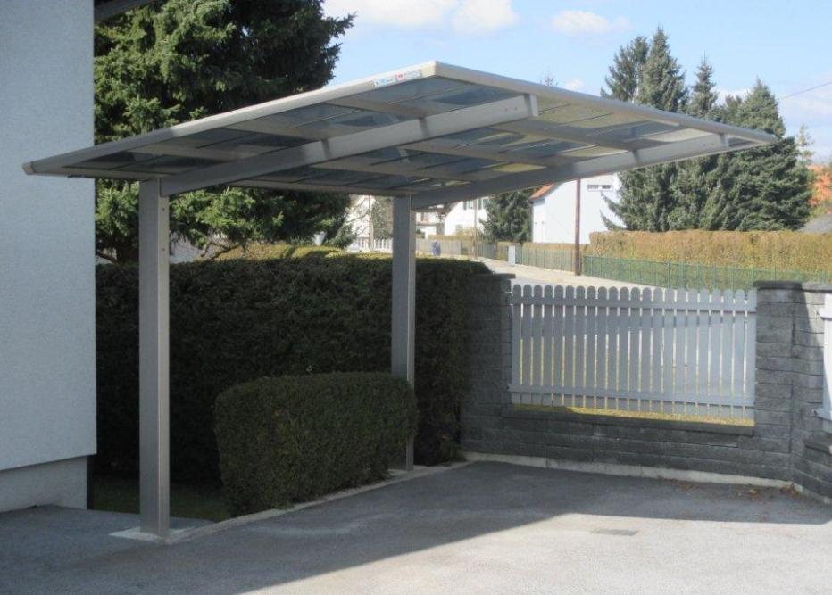 Ximax Design-Carport Linea Typ 80 Standard Winterweiss aus ...