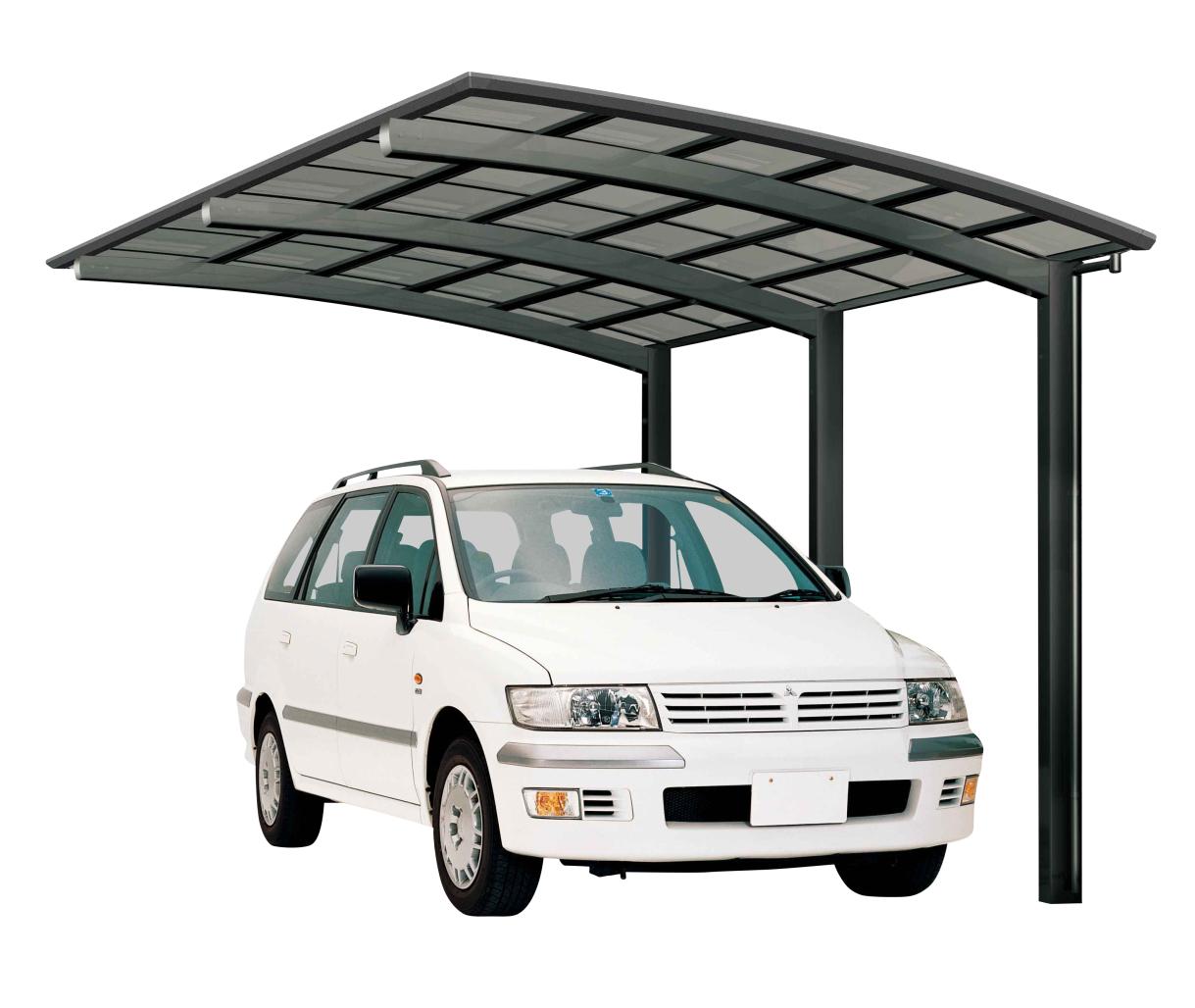 Ximax Design-Carport Portoforte Typ 110 Standard Schwarz aus ...