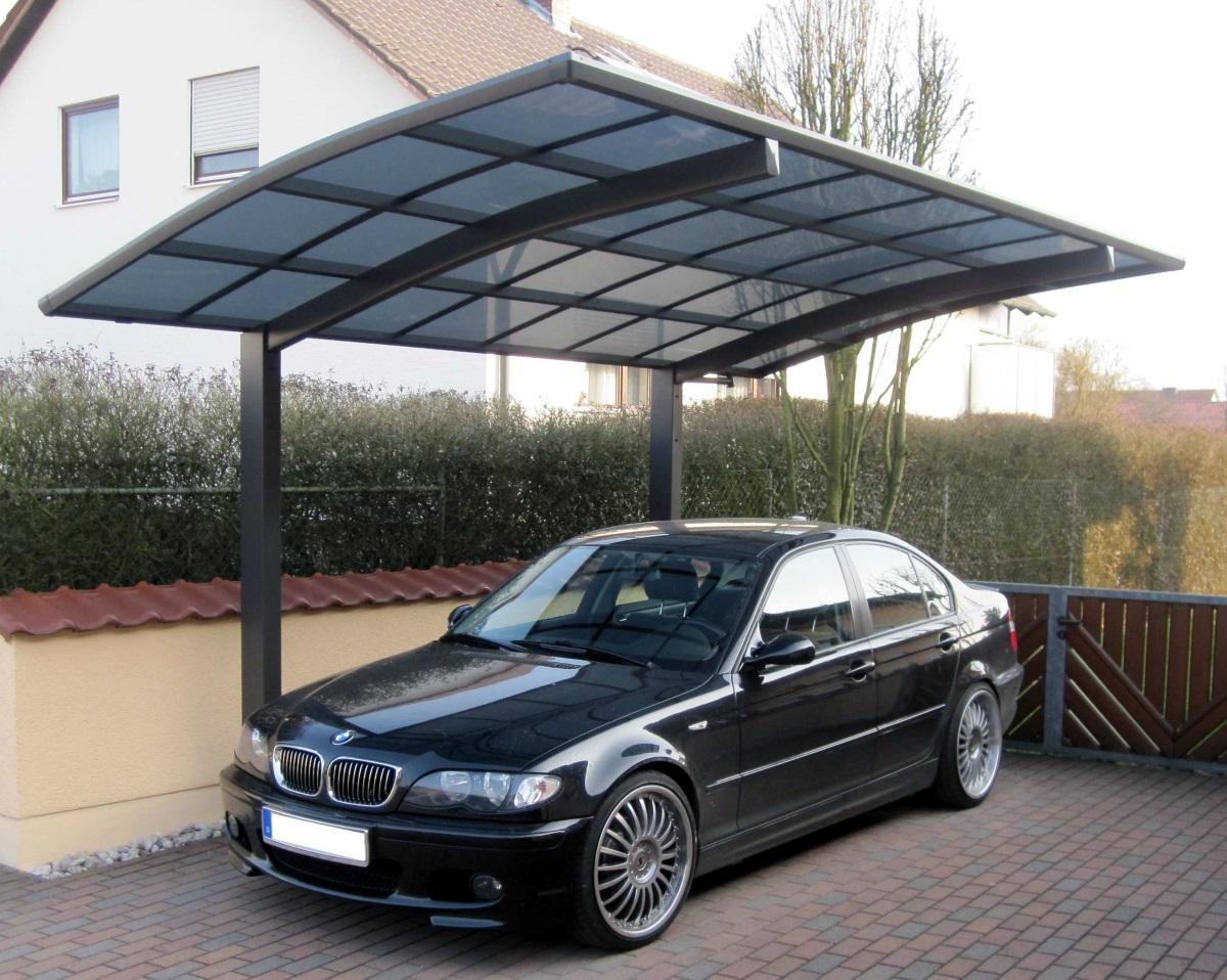 Ximax Design-Carport Portoforte Typ 60 Standard Schwarz aus ...