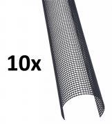 10x Marley Poly-Net Laubstop für Dachrinnen je 2m, RG/DN 150-180, 20m