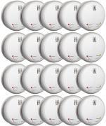20x Smartwares Funk-Rauchmelder FA22RF 85dB Alarm schnurlos verknüpfbar inkl. 9 V Batterien