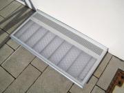 ACO Lichtschachtabdeckung Stahl verzinkt begehbar 400 x 1250