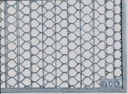ACO Rost für Lichtschacht 400 x 1250 x 20 mm Streckmetall begehbar