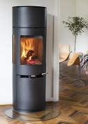 ADURO Kaminofen 9.7 extra hoch schwarz H150xB50xT44,7 cm (6 kW)