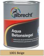 albrecht Aqua-Betonsiegel seidenmatt für innen & außen RAL 1001 beige 2,5 L