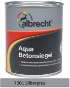albrecht Aqua-Betonsiegel seidenmatt für innen & außen RAL 7001 silbergrau 2,5 L
